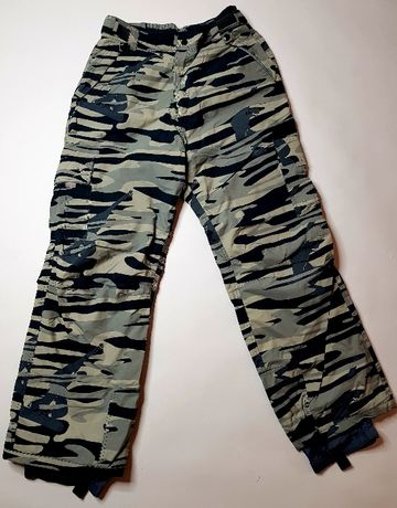 Spodnie snowboard/narty SIMMER STYLE camouflage rozmiar L