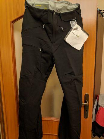 Salomon softshell spodnie narciarskie XL
