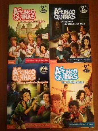 Livros As Cinco Quinas