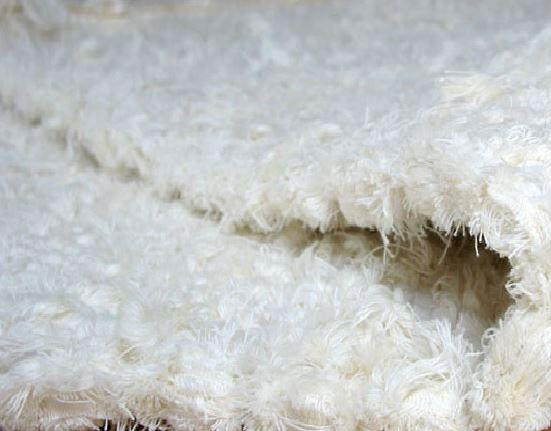 Dywanik Bawełniany do Prania różne rozmiary, kolor biały Dywan
