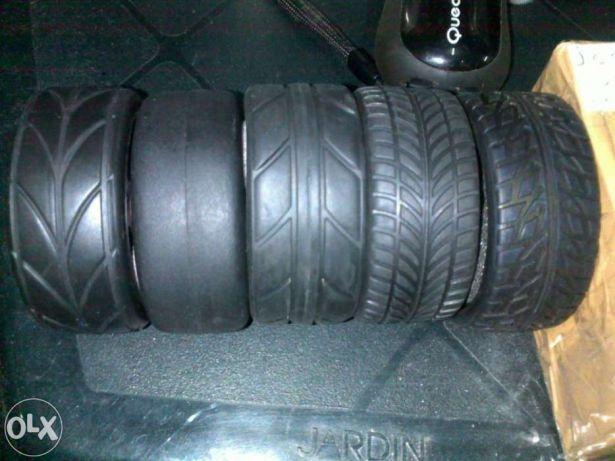 Conjunto 4 pneus rc 1/10