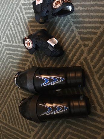 Ochraniacze na kolana i lokcie hokej dla dzieci