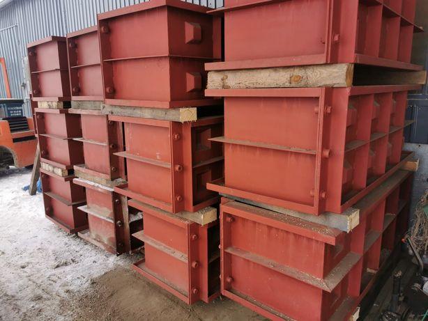 Formy do bloków betonowych
