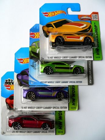 Hot Wheels '13 Chevy Camaro SE - Nowe resoraki !!