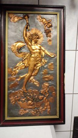 Obrazy metaloplastyka mosiadz Afrodyta lub Prometeusz