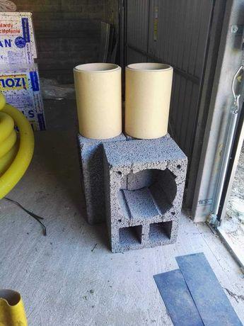 wkład kominowy ceramiczny okrągły