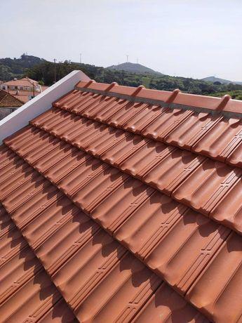 Telhados, terraços, fachadas, isolamentos.