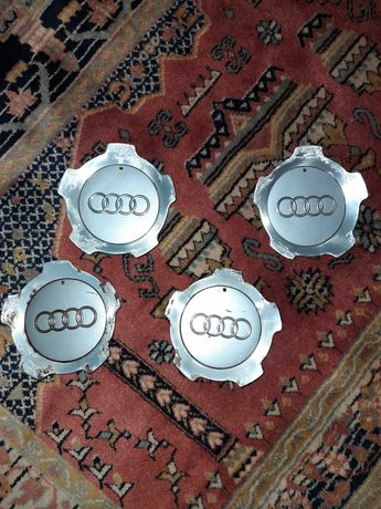 4 centros de jantes Audi Allroad 4BH C5