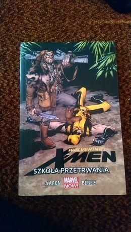 Komiks Wolverine Szkoła Przetrwania