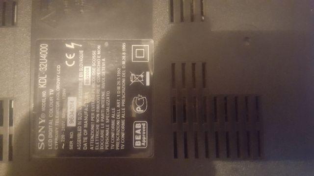 Sony 32 telewizor na czesci