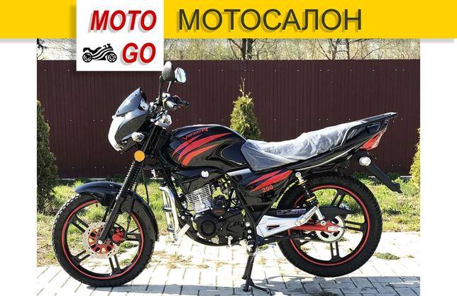 Новый Мотоцикл Viper ZS200A Черный. Гарантия, Кредит! (МОТОСАЛОН)