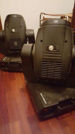 2 Art system 575 Wash-13 canais com lampadas novas