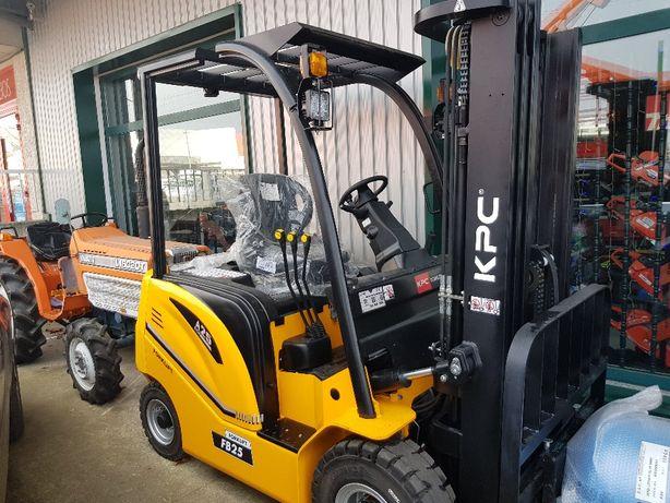 Empilhador eletrico KIPOR novo 2500kg