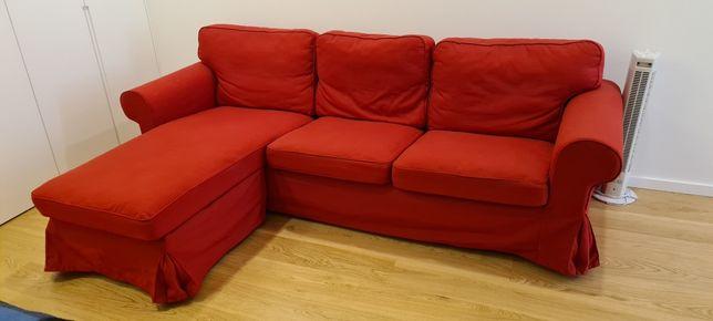 Sofa 3 lugares com chaise longue