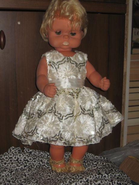 большой пупс-кукла- 60 см.