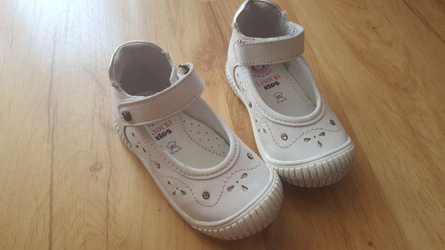 Sandałki Lasocki Kids skórzane wyprofilowane