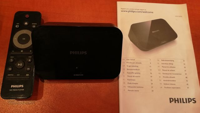 Odtwarzacz Philips HMP 3000/12 (video, zdjecia, audio)