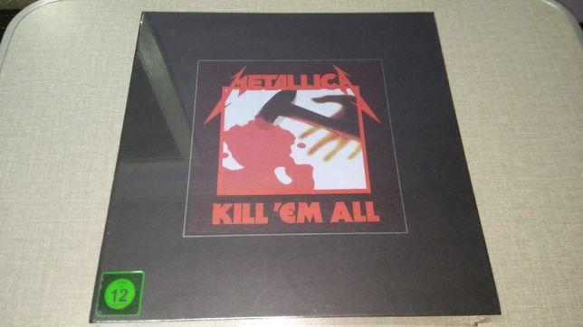 Metallica – Kill 'Em All BOX Numbered LP VINYL Sealed NEW
