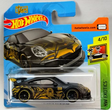 Hot wheels Porsche 911 GT3 RS model
