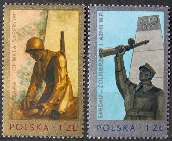 Znaczki polskie 1976 stan** całe serie