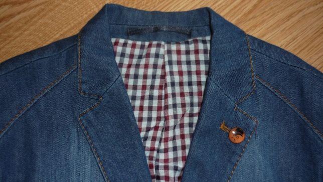 Пиджак джинсовый с подкладкой Paulo Carvelli(Турция)