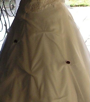suknia ślubna z halką 42-44