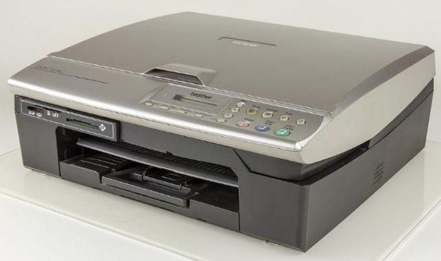 Impressora e scanner Brother DCP 115C - Avariada