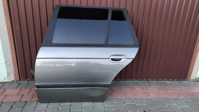 Drzwi lewy tył tylne STERLINGGRAU BMW E39 kombi
