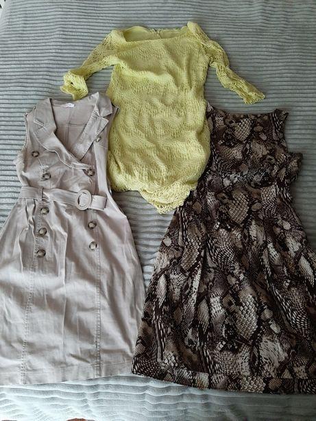 Wietrzenie szafy wyprzedaż- sukienki