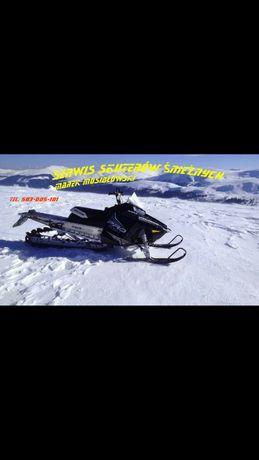 Serwis skuterów śnieżnych. Jelenia Góra. Skuter śnieżny. Serwis