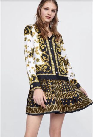 Б/у платье zara
