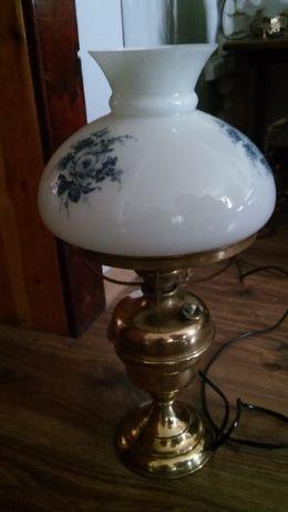 Lampa mosiężna stara