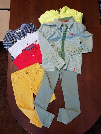 Ubrania MEGA PAKIET wzrost 110/116 dla chłopca