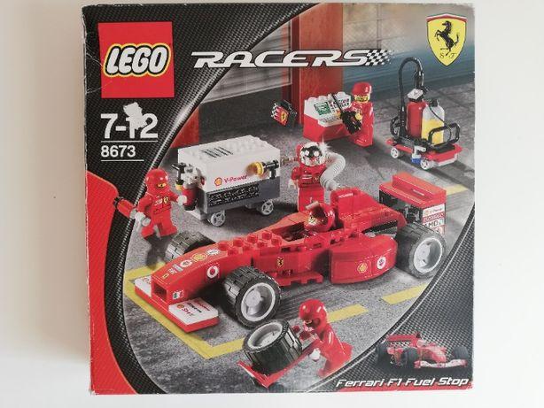 Zestaw klocków LEGO RACERS 8673 Ferrari F1