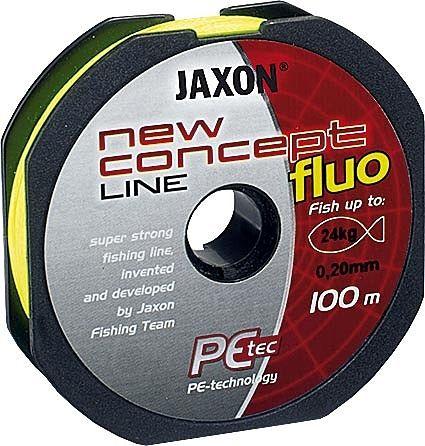 Plecionka Jaxon New Concept Line Fluo 100m 0.22mm