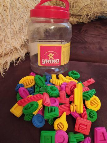 Конструктор резиновый Уника