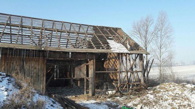 Skup starego drewna stodoła dom rozbiorki stare deski