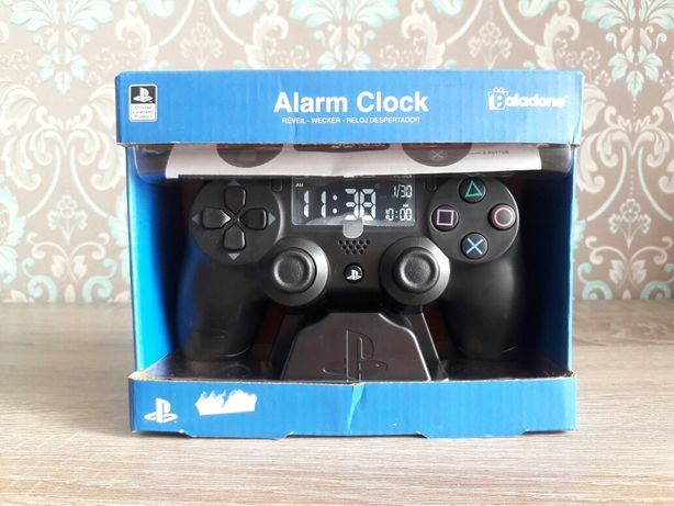 Настольные часы Playstation Alarm Clock Paladone