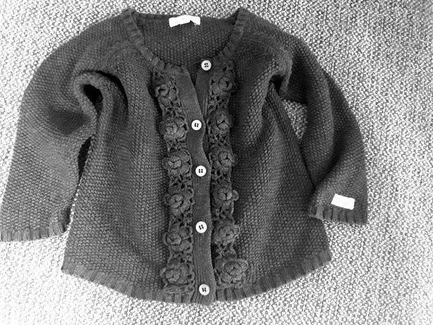 NEWBIE 92 sweterek,sweter grafitowy