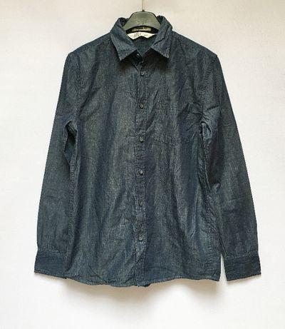 Koszula Dzinsowa 158 cm 12 13 lat Jeansowa H&M Regular Fit Zara C&A