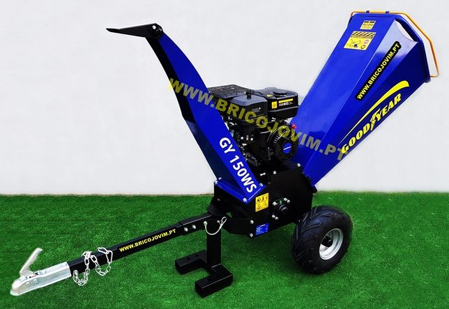 Biotriturador Goodyear Novo - 15cv - Arranque elétrico - Tritura 12cm