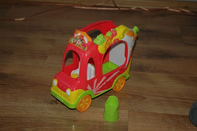 Shopkins auto z napojami