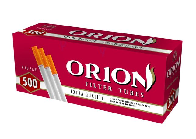№ 1! Лучшие! Гильзы для сигарет Orion 500 шт сигаретные для набивки