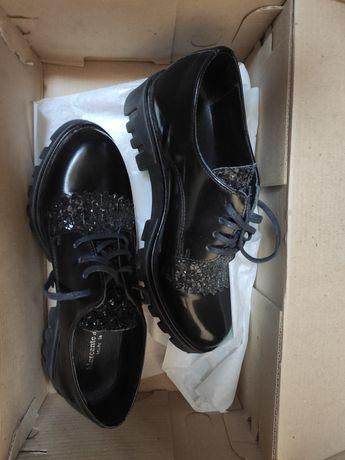 Лоферы,туфли, оксфорды,кожа кожаные, ботинки Италия
