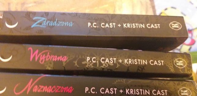 Naznaczona , Wybrana ,Zdradzona P.C. Cast Kristian Cast