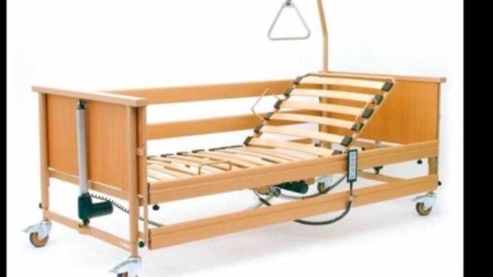 Łóżko rehabilitacyjne szpitalne elektryczne Wolsztyn - image 1