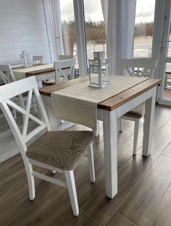 stóły i krzesła/ komplet