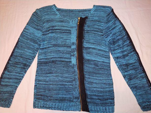 Sweterek młodzieżowy niebieski 38-40