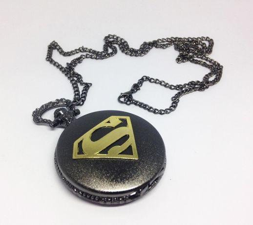 Relógio de Bolso Superman - Super-Homem