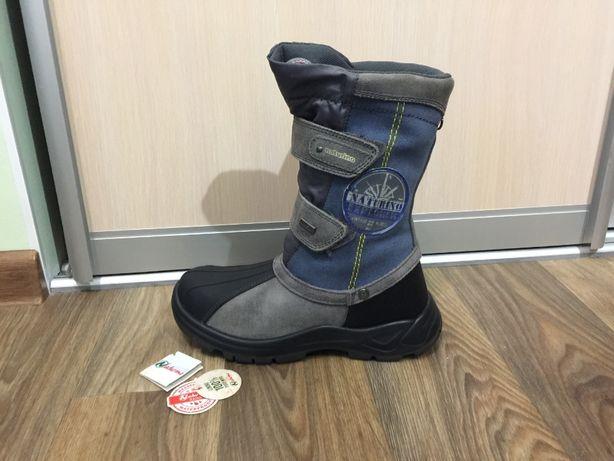 Сапожки ботинки зимние на мальчика черевики Naturino р.37(23с